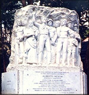 Alberto Meschi monument