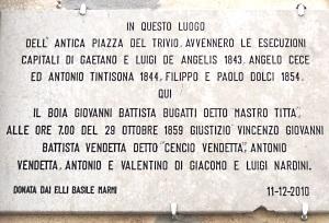 Chi era Costui - Scheda di Giovanni Battista Bugatti (Mastro Titta) 1028adf23ee